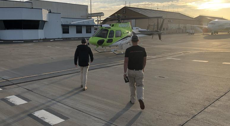 Start-up Voom has begun offering shared on-demand rides in helicopters around the Bay Area.