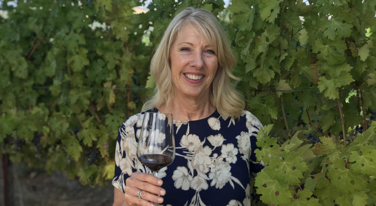 Winemaker Cheryl Lucido of Laujor Wine Estate