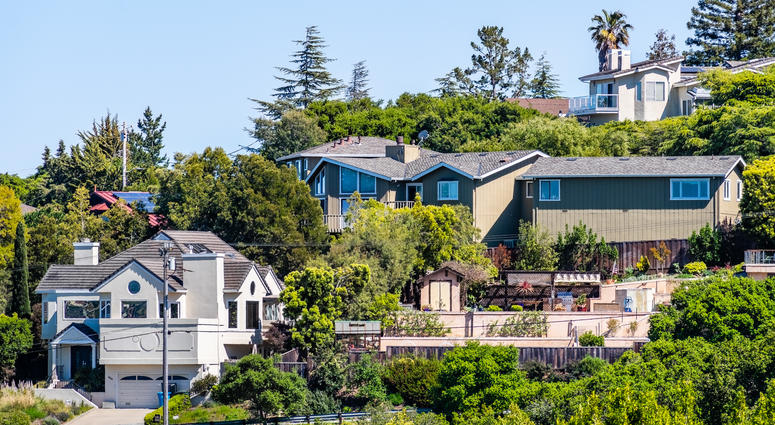 Redwood City homes in San Mateo County.