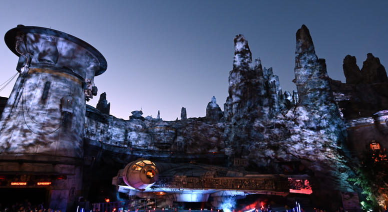 Details of Star Wars: Galaxy's Edge Media Preview at the Disneyland Resort on May 29, 2019 in Anaheim, California