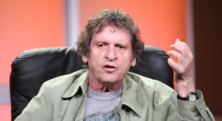 Paul Krassner, co founder of the Yippies speaks for the Independent Lens segment during the PBS portion of the Television Critics Association press tour at the Beverly Hilton Hotel on July 12, 2008 in Beverly Hills, California.