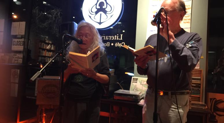 Maxine Hong Kingston and Earll Kingston Read At Octopus Literary Salon