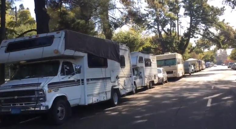 Mountain View Deals With Hundreds Of RVs Parking On City Streets