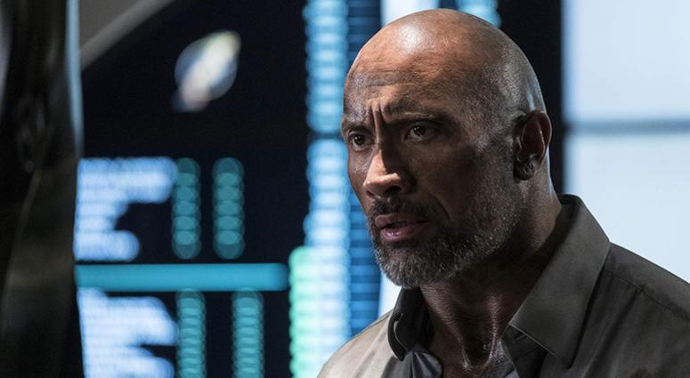 Dwayne Johnson in 'Skyscraper'