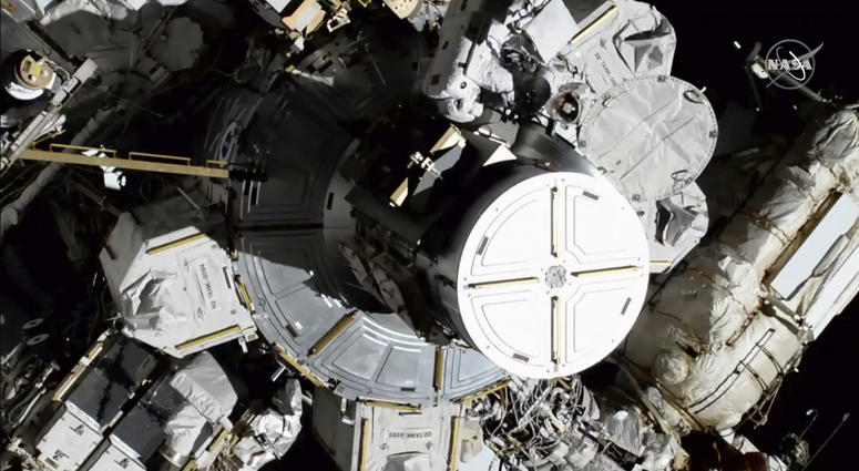 First All-Female Spacewalking Team Makes Repairs — And History — In Space