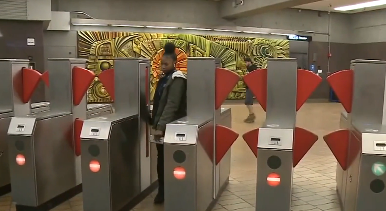 BART Tests Double-Stacked Fare Gates