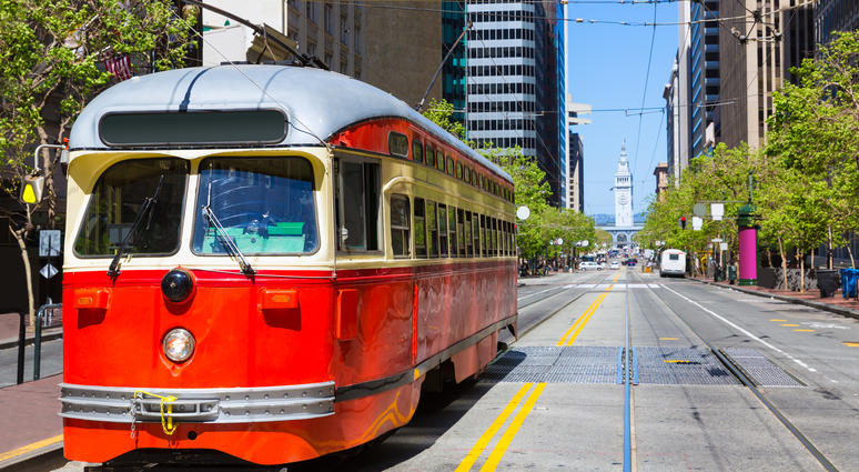 Cable Car, Market Street SF