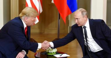 President Trump and Vladimir Putin meet in Helsinki