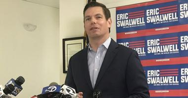 Eric Swalwell announces on July 8, 2019 that he has ended his bid for presidency
