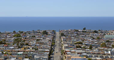 The Outer Sunset in San Francisco.