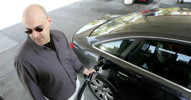 A customer pumps gasoline into his car at a service station May 7, 2007 in San Francisco, California.