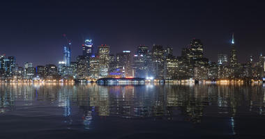 San Francisco seen from Treasure Island.