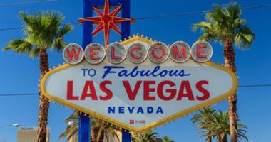 Famous Las Vegas sign.