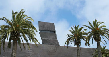 The de Young Museum in Golden Gate Park.