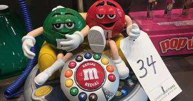 Everything must go at Zoonie's, including this vintage M&M telephone