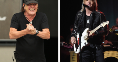 Brian Johnson and Joe Walsh