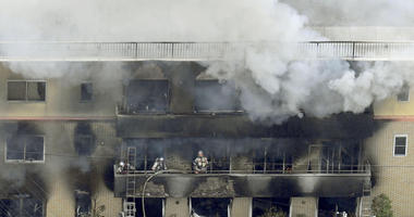 Up To 23 Perish In Animation Studio Fire Started By Suspect Shouting 'You Die'