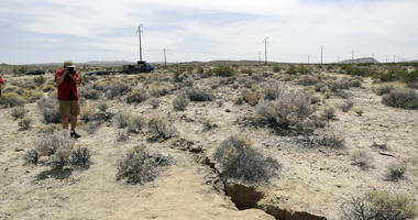 Since Summer Earthquake, Fault Has Moved
