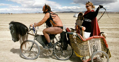 15th Annual Burning Man Festival September 2, 2000, Black Rock Desert