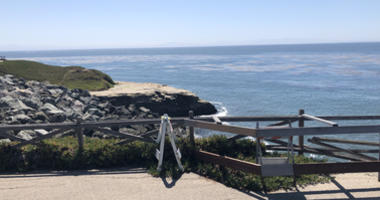 Cliff erosion in Santa Cruz along roads like West Cliff Road is a concern.