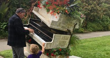 San Francisco Flower Piano