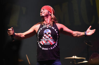 Bret Michaels performs at Tree Town Music Festival - Day 1 on May 25, 2017