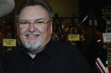Ed King - former member of Lynyrd Skynyrd -- attends 2017 Amigo Nashville Guitar Show at Liberty Hall in The Factory on March 18, 2017 in Franklin, Tennessee.