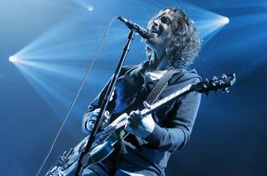 Chris Cornell of Soundgarden in 2013