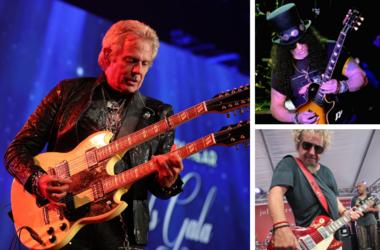 Don Felder, Slash and Sammy Hagar