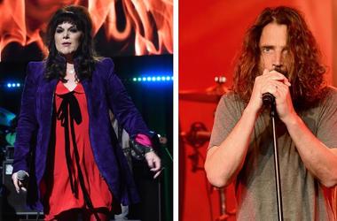 Ann Wilson and Chris Cornell