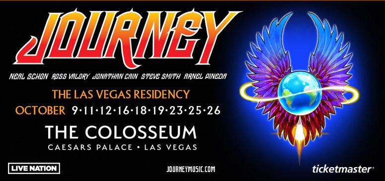 Enter To Win A Trip To Vegas To See Journey | 93 1 Jack FM