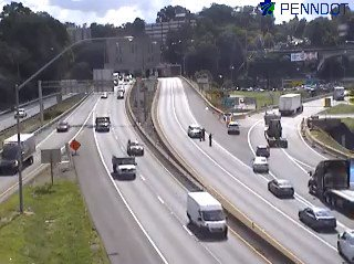 Outbound Squirrel Hill Tunnel Reopened After Motorcycle