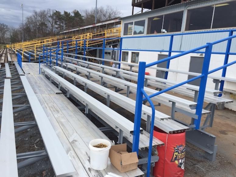 The Peoples Natural Gas Handicapped Grandstands At Lernerville Speedway