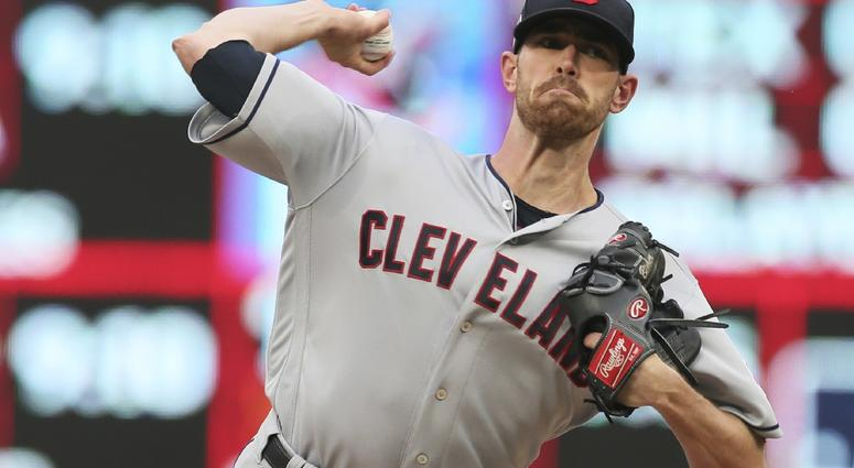 Indians beat Twins 6-2, pull even for Central Division lead