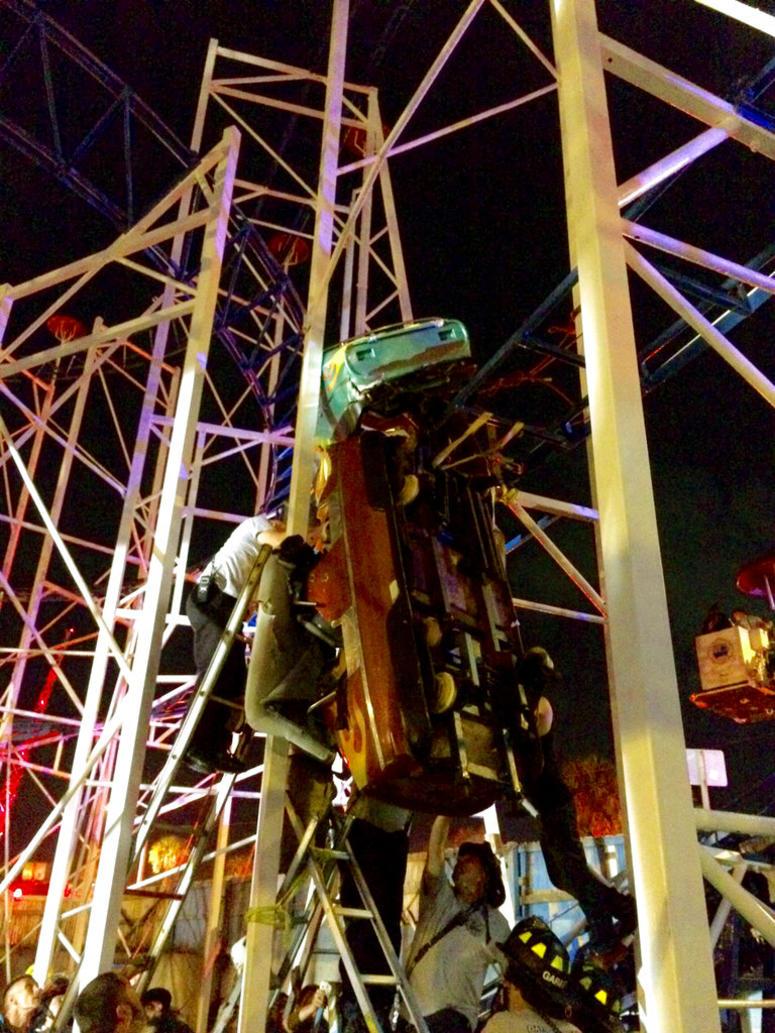 Roller Coaster at Daytona Beach Boardwalk