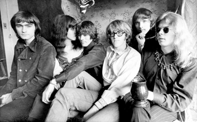 Jefferson Airplane, Marty Balin, from left, Grace Slick, Spencer Dryden, Paul Kantner, Jorma Kaukonen and Jack Casady