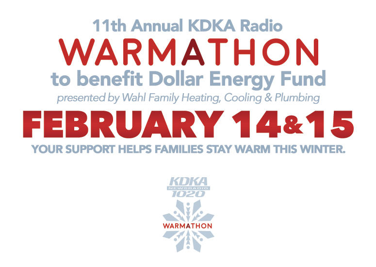 2019 KDKA Radio Warmathon to Benefit Dollar Energy Fund