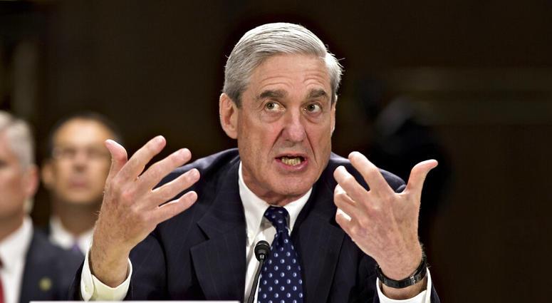 then-FBI Director Robert Mueller testifies on Capitol Hill in Washington