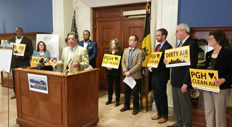 More than 60 elected leaders from across Allegheny County have signed a letter calling for a crackdown on industrial polluters.
