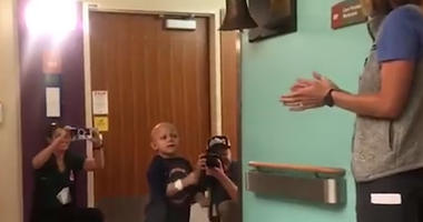 4-Year-Old Celebrates Last Chemotherapy Treatment