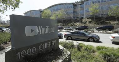 YouTube offices in San Bruno, Calif.