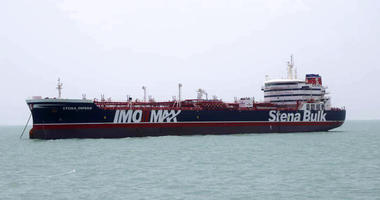 A British-flagged oil tanker Stena Impero which was seized by the Iran's Revolutionary Guard