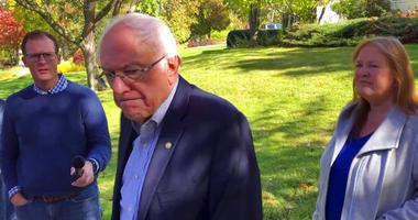 Democratic presidential candidate Sen. Bernie Sanders, I-Vt.,