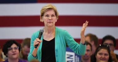 Democratic presidential candidate U.S. Sen. Elizabeth Warren