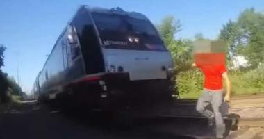New Jersey Cop Saves Man from Approaching Train