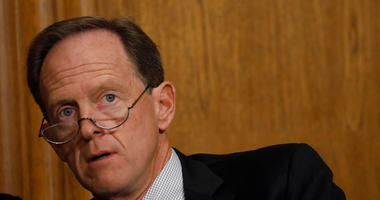 """So-called """"lie and try"""" legislation to tighten one loophole in criminal background checks for gun purchases is co-sponsored by Pennsylvania U.S. Senator Pat Toomey."""