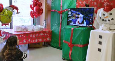 Virtual Interactive Santa Bring Smiles To Children at Hospital