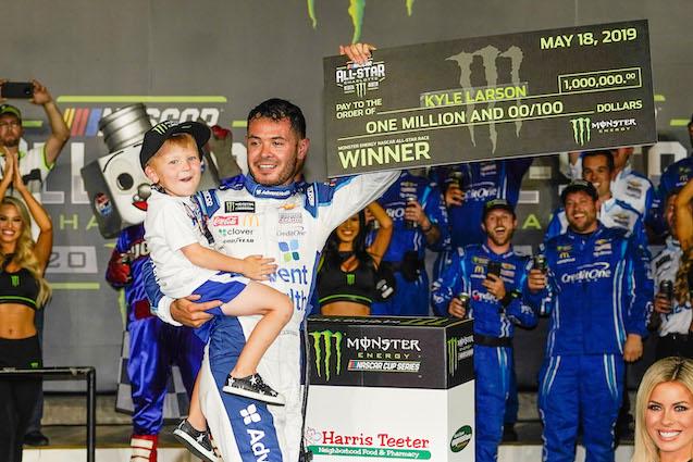 Kyle Larson Wins NASCAR All-Star Race | 93 7 The Fan