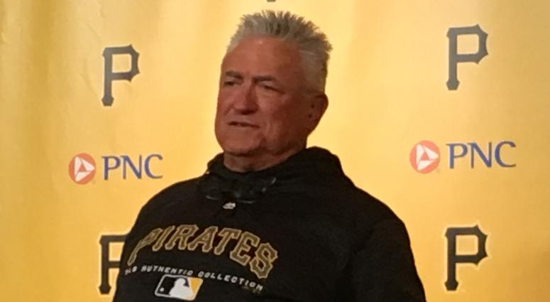 Pirates Manager Clint Hurdle