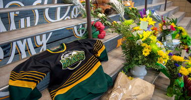 Humboldt Broncos Memorial at Elgar Petersen Arena